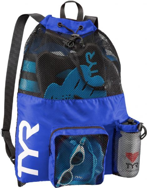 TYR Big Mesh Kitbag - Royal
